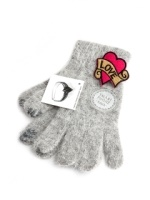 ����Ʈ���尩_Colory Co Angora Gloves_gray